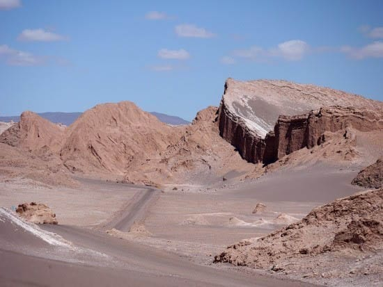 The Moon Valley in Chile's Atacama Desert
