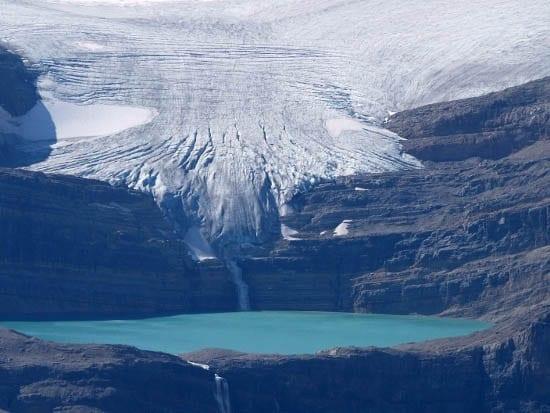 Travel Photo Thursday: Crowfoot Glacier, Banff National Park