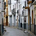 """The narrow streets of Alhama de Granada"""