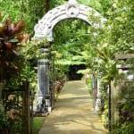 """Entrance to the Kauai Hindu Monastery"""