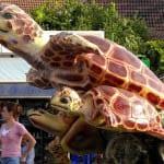 """Dalyan's turtle statue"""