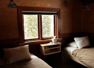 """""""One of eight lodge rooms at Lake O'Hara Lodge"""""""