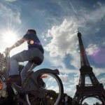 """""""A cyclist in Paris"""""""