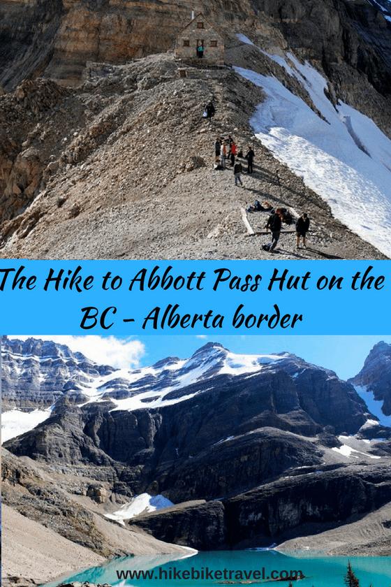A Daunting Hike to Abbott Pass Hut on the Alberta-BC Border