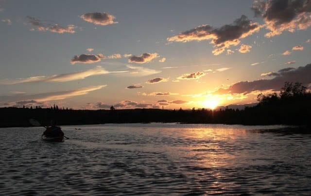 Kayaking Calgary's Glenmore Reservoir