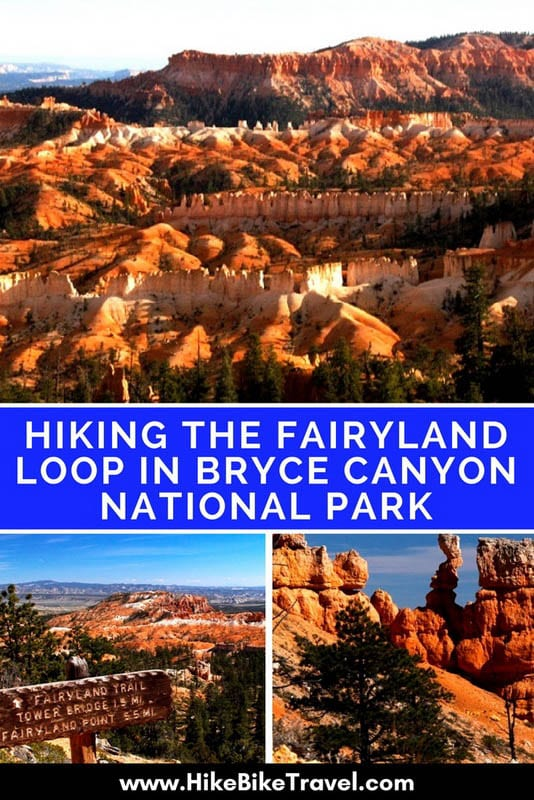 Hiking the Fairyland Loop in Bryce Canyon National Park