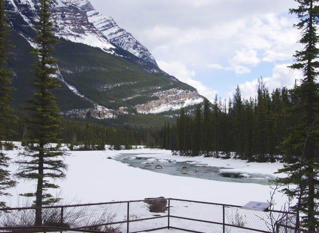 A Visit to the Athabasca Falls near Jasper, Alberta
