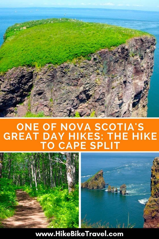 One of Nova Scotia's Great Day Hikes: The Hike to Cape Split