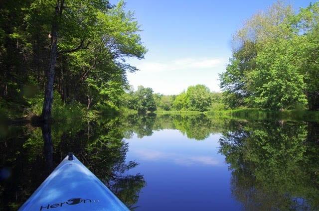 """""""kayaking the Mersey River"""""""
