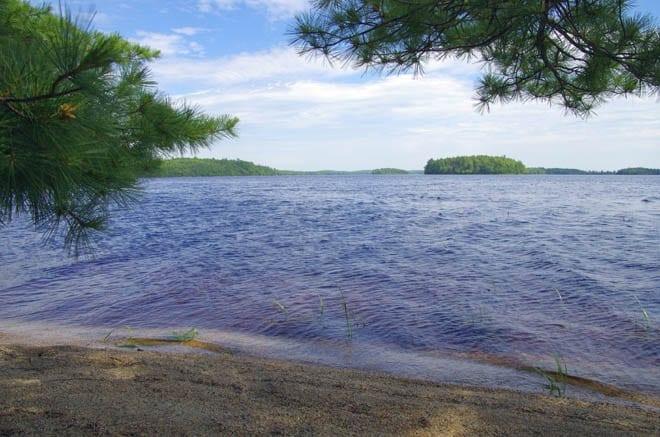 """""""Sandy beaches on Lake Kejimikujik"""""""