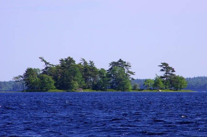 """""""Island in Kejimikujik Lake"""""""