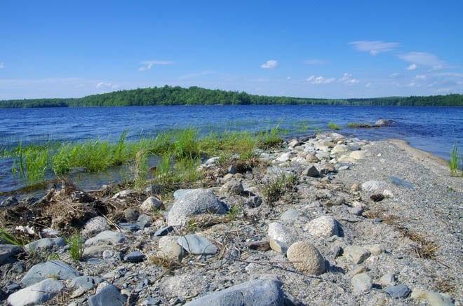 """Beautiful rocky beach"""