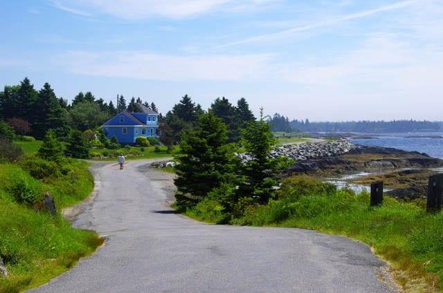 """Quiet coastal walking"""