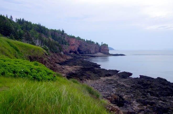 """""""cave near Cape Chignecto"""""""