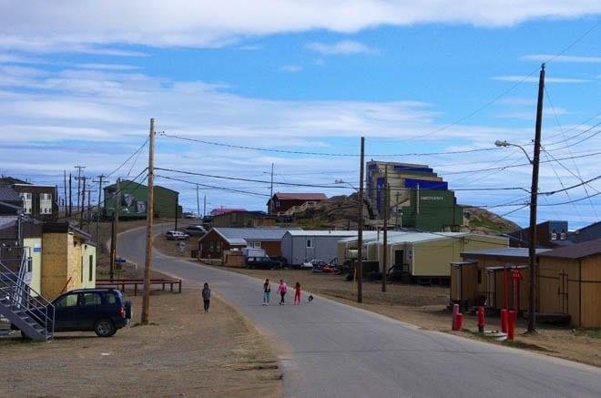 """""""kids wandering the streets in Iqaluit"""""""