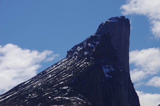 """Close-up of Mt. Thor"""