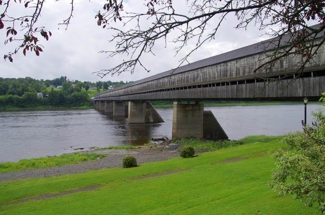 """The Hartland Covered Bridge"""
