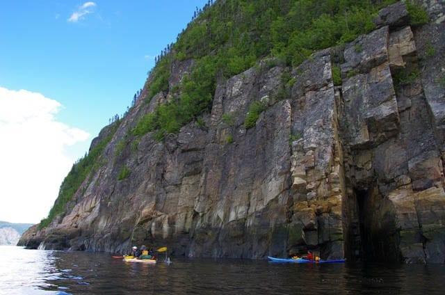 """""""Dwarfed by the cliffs"""""""