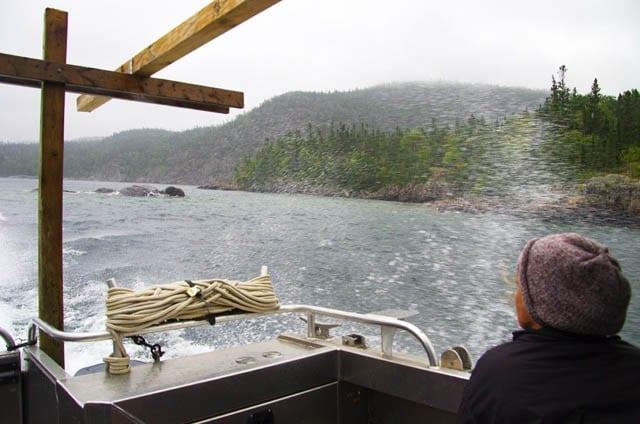 """boat ride on Lake Superior"""