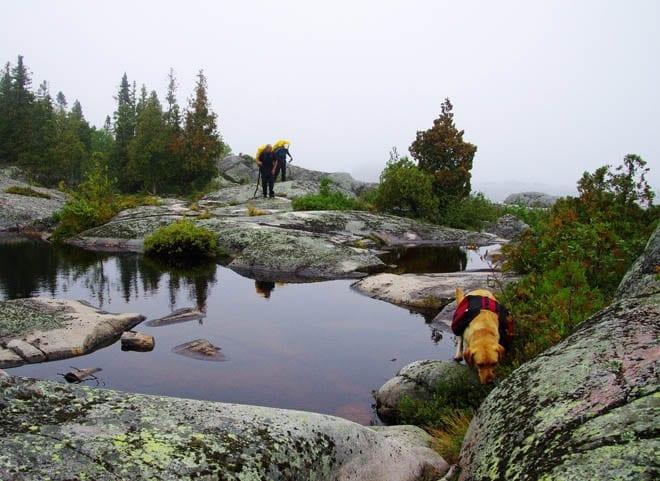 """Beautiful ponds on a ledge above Lake Superior"""
