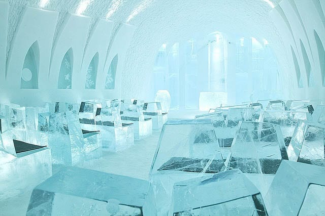 """Church in the Ice Hotel"