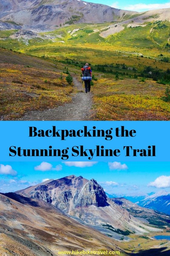 Hiking the Skyline Trail in Jasper National Park