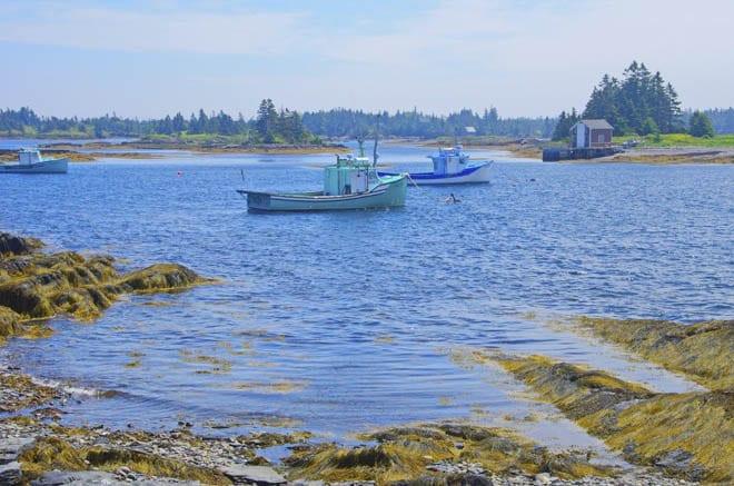 """""""Boats in Blue Rocks"""""""