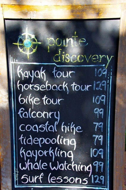 """Activities offered at Pointe Discovery"""