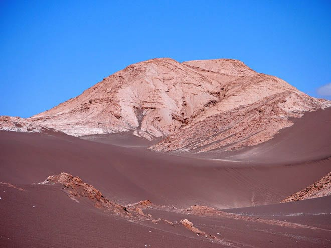 """The Moon Valley in the Atacama Desert"""