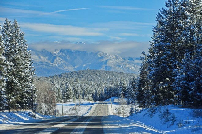 """Heading down to Invermere from Panorama Mountain"""