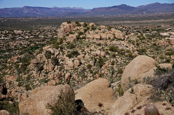 """The boulders are reminiscent of what you see in Joshua Tree National Park"""