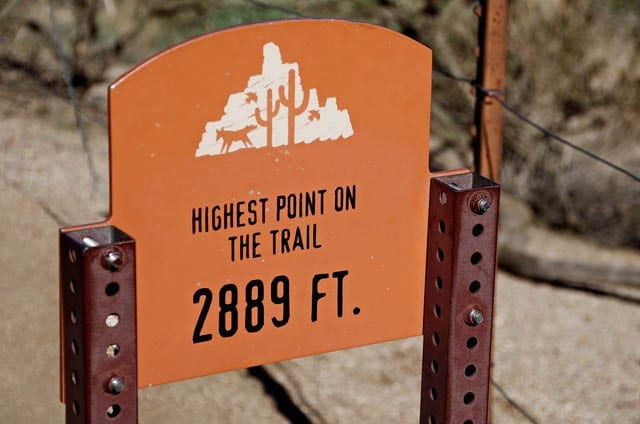 """The highest point on the trail"""