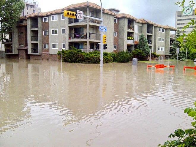 """Calgary flooding in June 2013"""