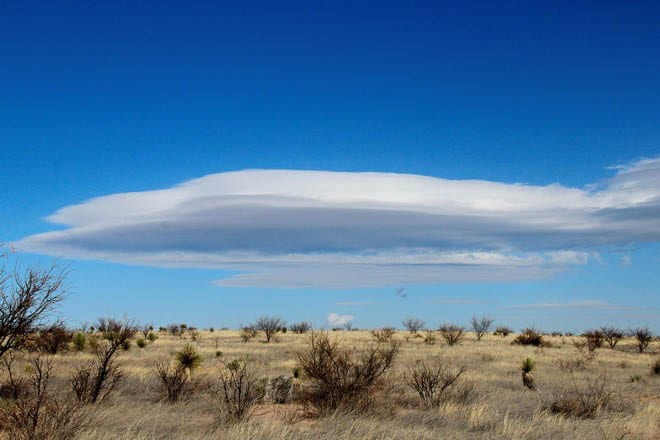 """""""Fantastic cloud formations in southern Arizona"""""""
