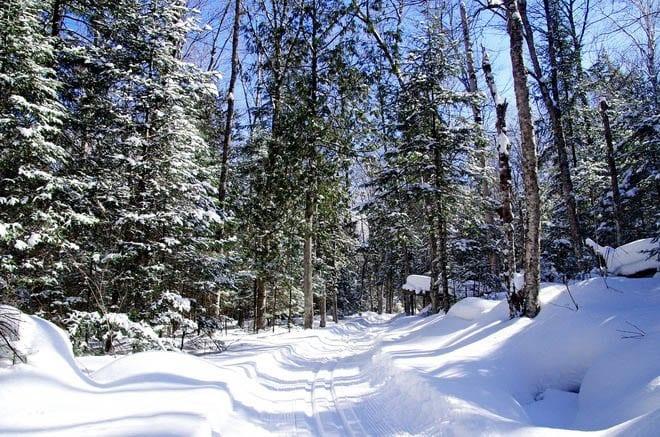 """Truly delightful skiing at Saint Bernard"""