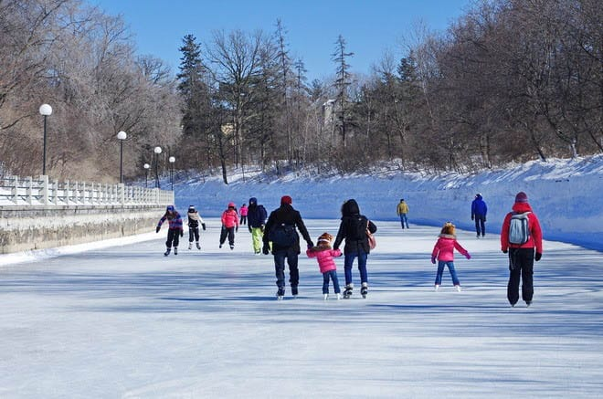 Skating on Ottawa's Rideau Canal – A UNESCO World Heritage Site