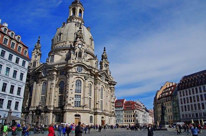 """The Frauenkirche"""