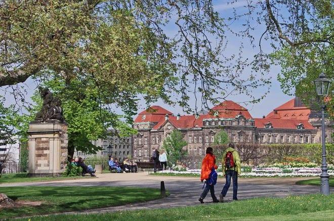 """Dresden is a fabulous city for walking"""
