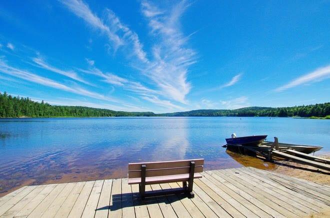 A Canoe or Kayak Trip in La Mauricie National Park, Quebec