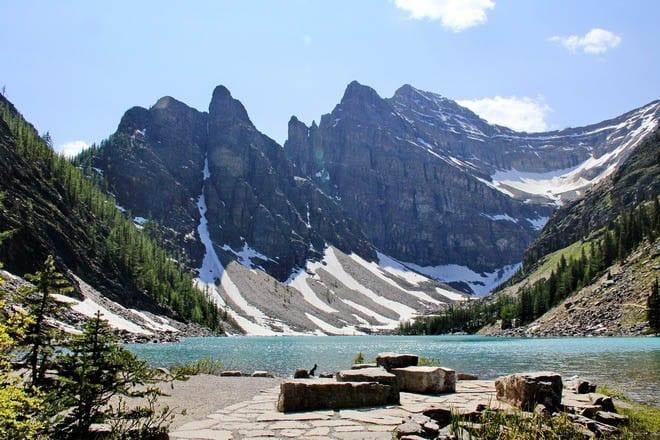"""Lake Agnes in Banff National Park"""
