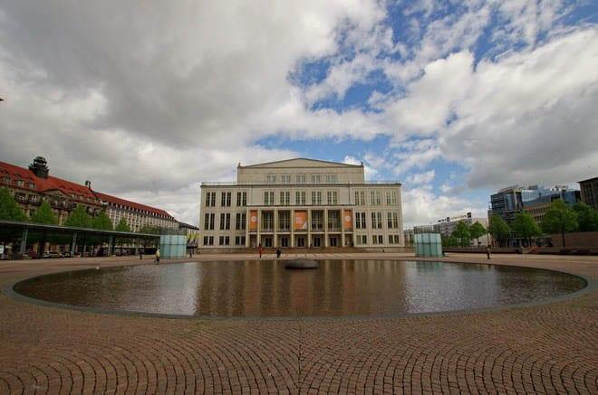 """The Opera House in Leipzig"""
