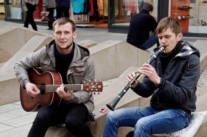"""""""Fantastic street musicians"""""""