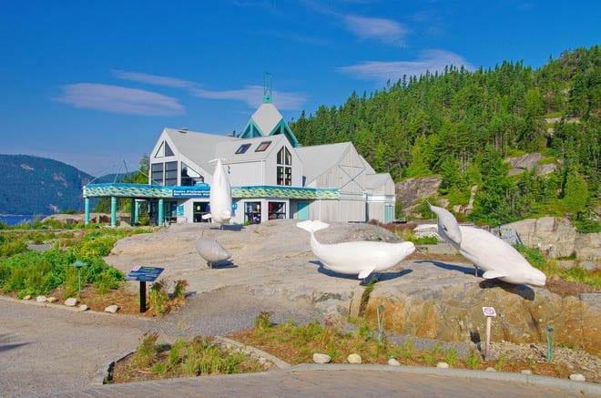 """The Marine Mammal Interpretation Center in Tadoussac, Quebec"""