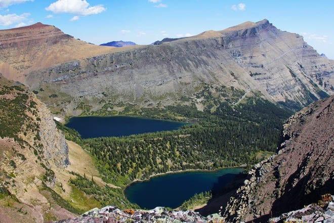 """Scenery on the Lineham Ridge hike, Waterton Lakes National Park"""