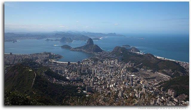 """""""Looking out over Rio de Janeiro"""""""