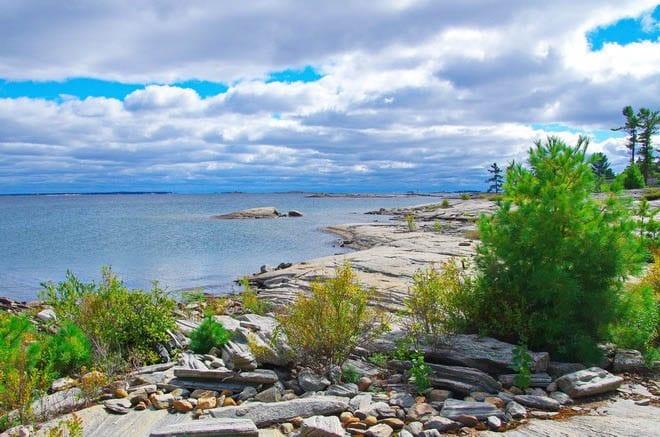 """Quintessential Georgian Bay scenery"""