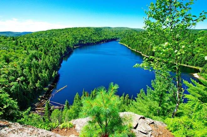 """""""Fantastic view down Lake Benoit"""""""