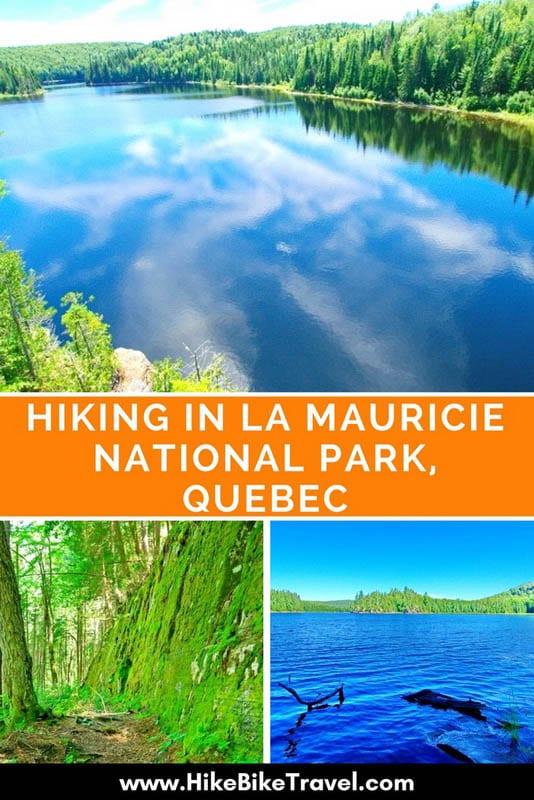 Hiking in La Mauricie National Park, Quebec