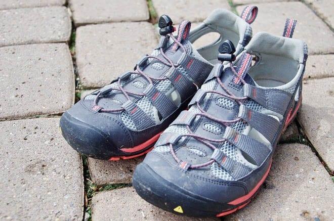 """My new KEEN sandals"""