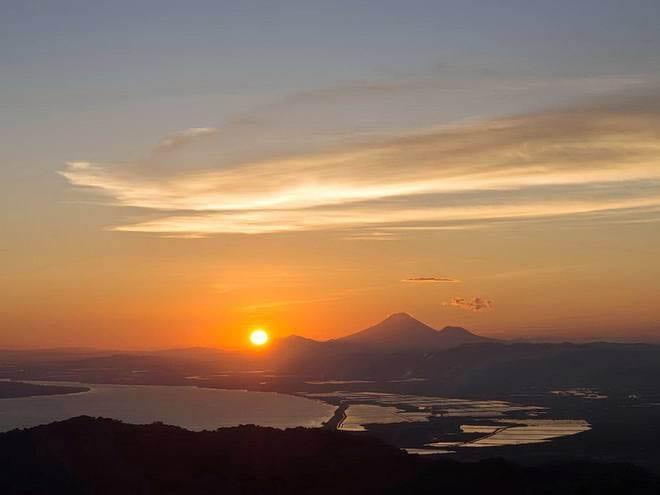 """Sunrise over San Cristobal"""